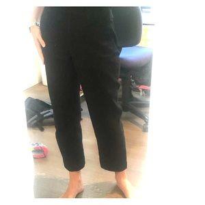 Everlane straight leg cropped pants